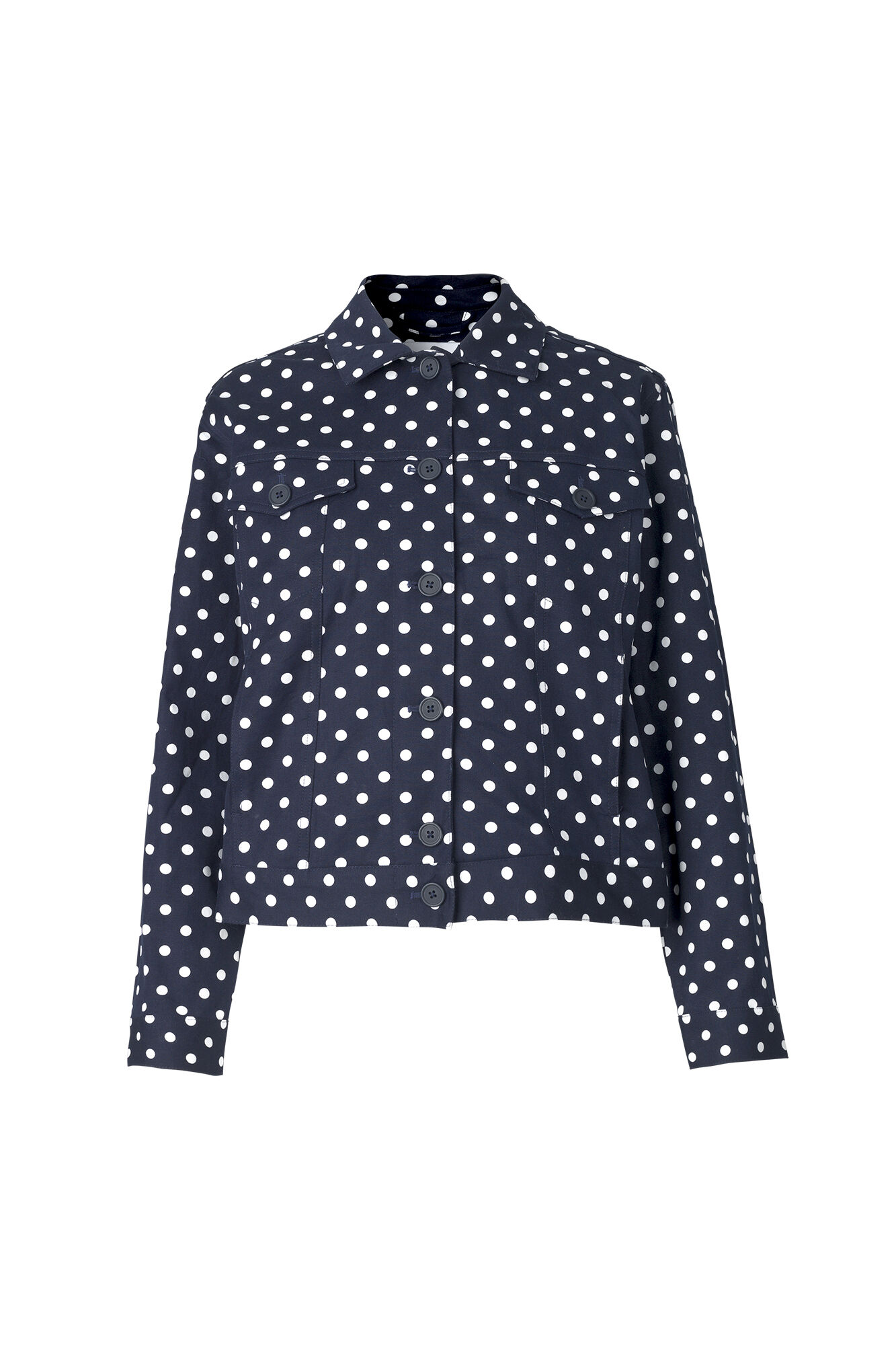 ENHONEY JACKET AOP 6503, NAVY DOT BIG