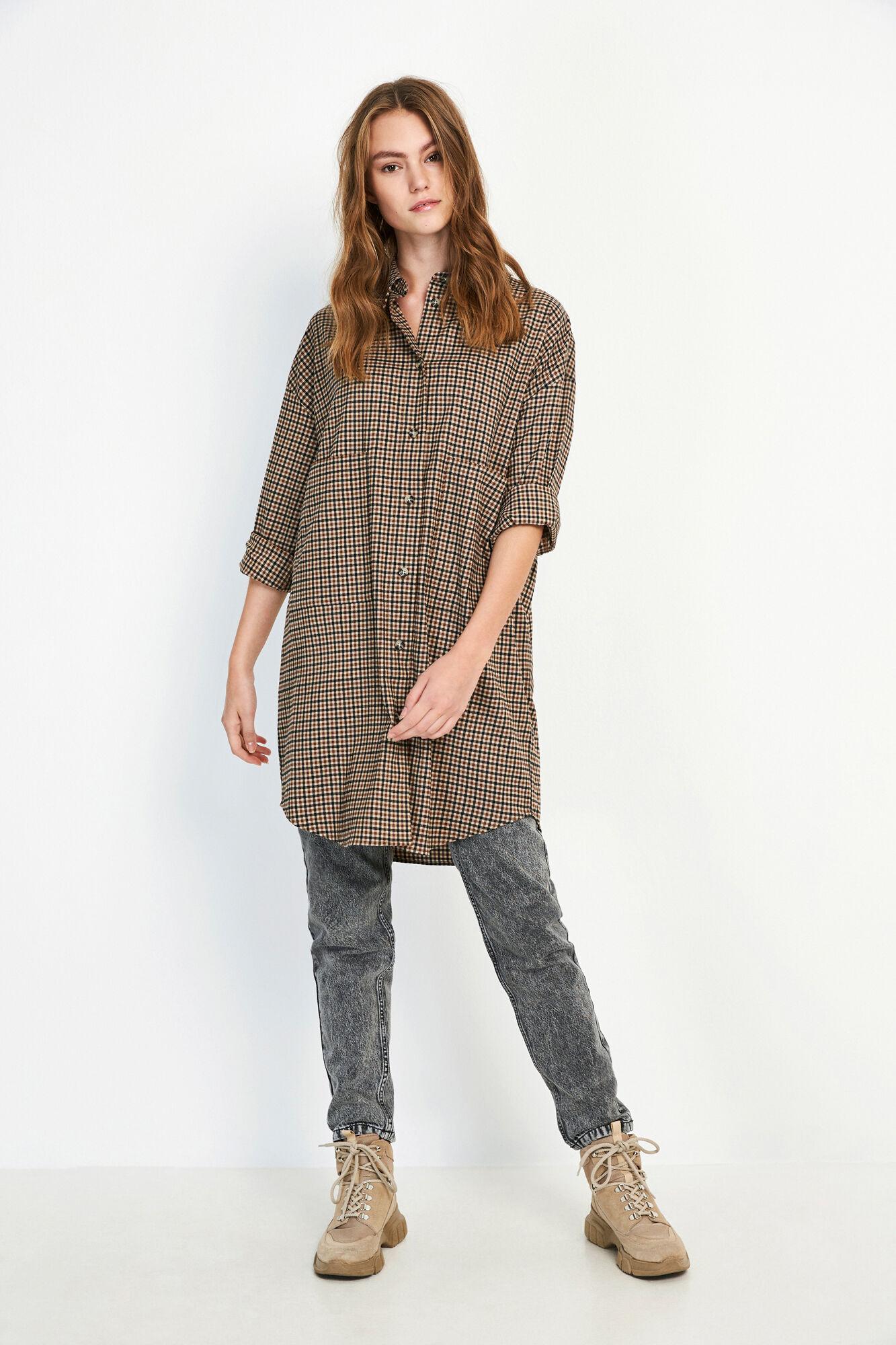 ENCOFFEE LS DRESS 6684