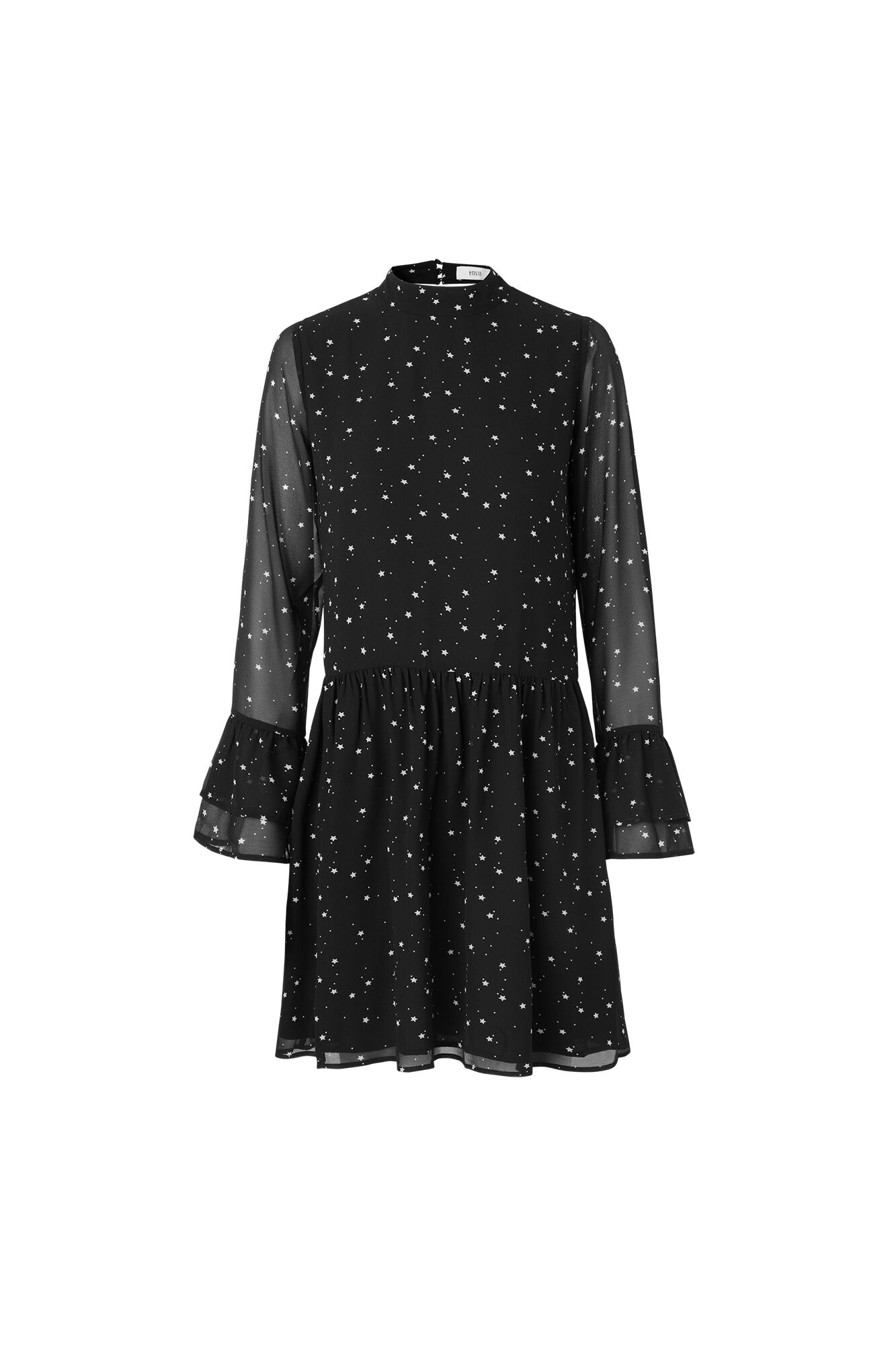 ENASTROID LS DRESS AOP 6395, STAR AOP