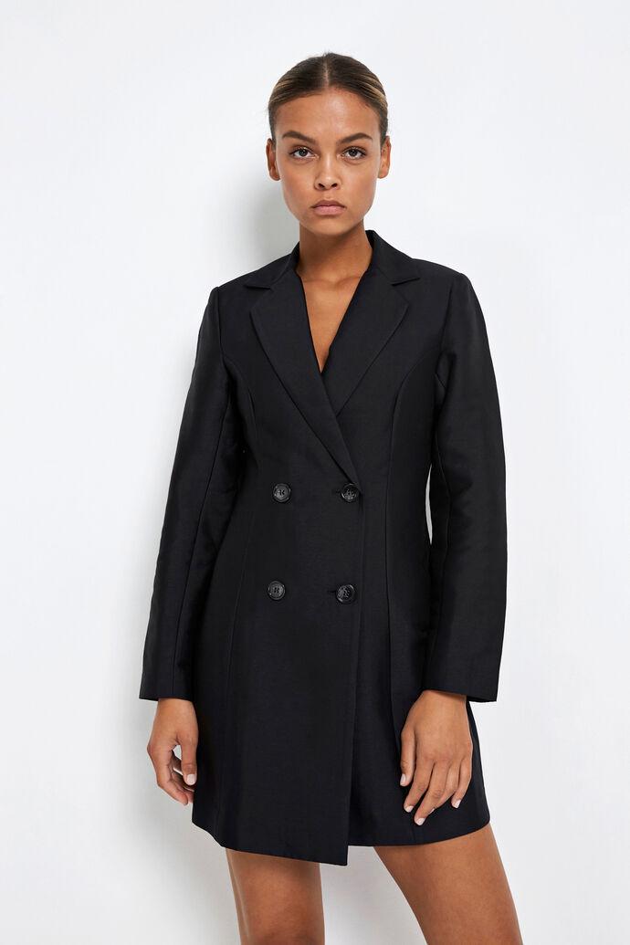 ENKIRBY LS V-N DRESS 6789, BLACK