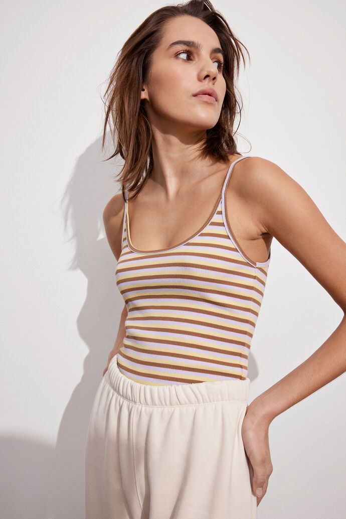 ENALLY SL TOP ST 5314, GELATO STRIPE
