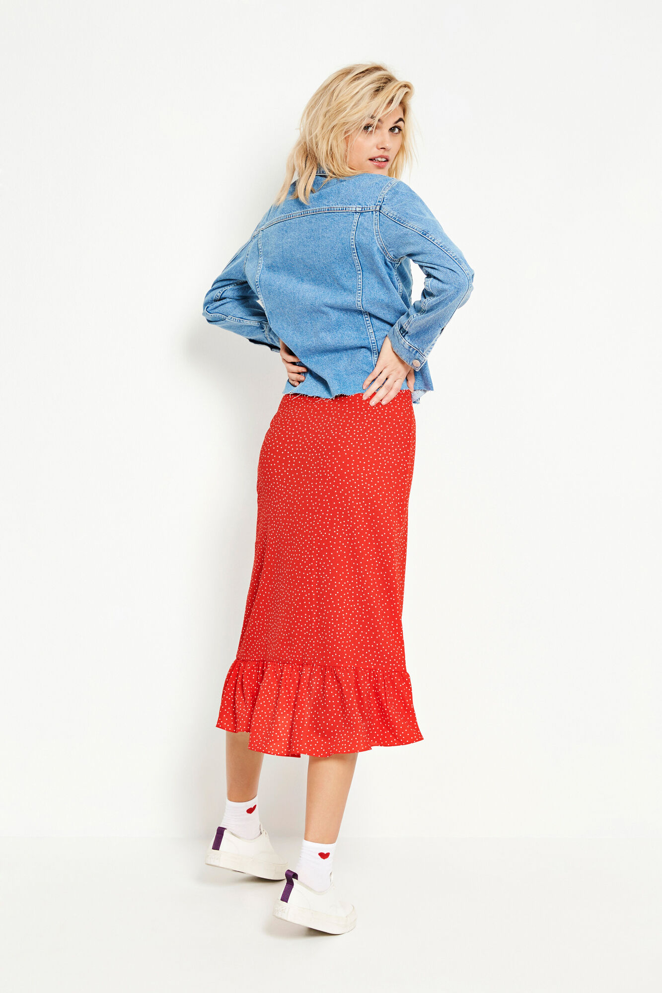 ENCHILI SKIRT AOP 6444