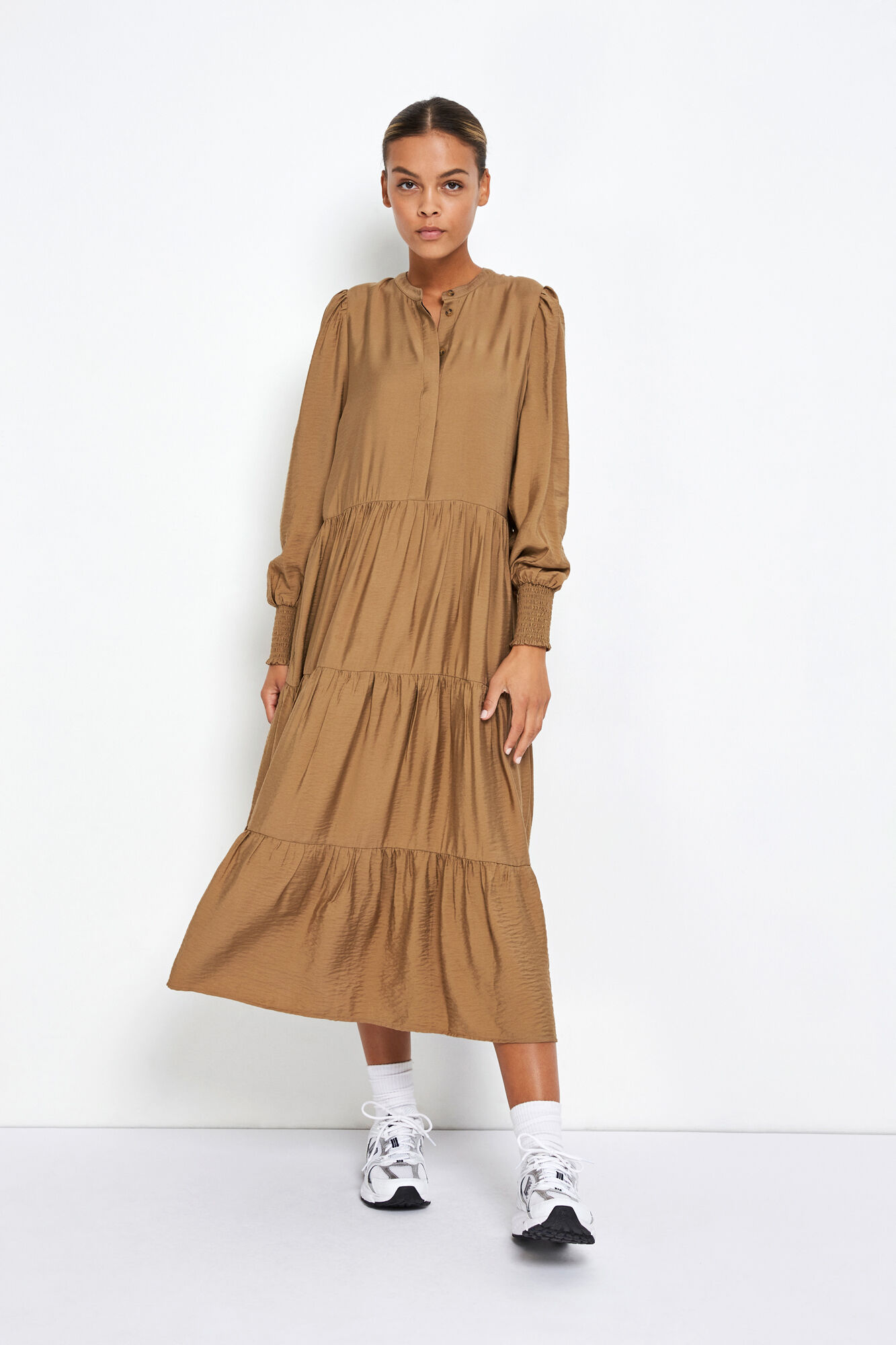 ENDOWNING LS MAXI DRESS