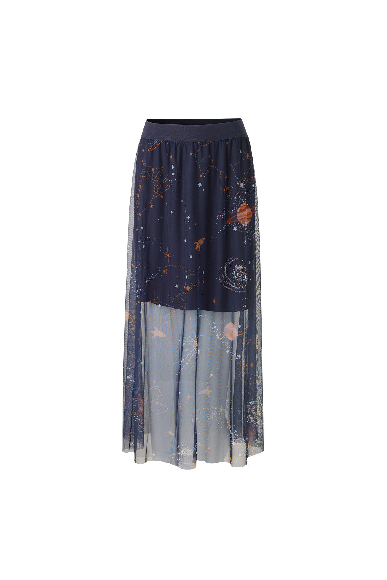 ENZIGGY SKIRT AOP 5966, COSMIC AOP