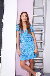 ENLIZARD SS DRESS AOP 5890