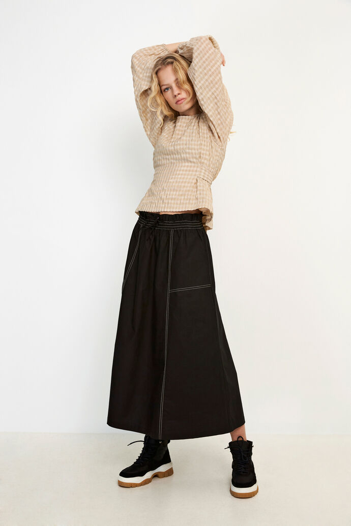 ENTOPAZ SKIRT 6691, BLACK
