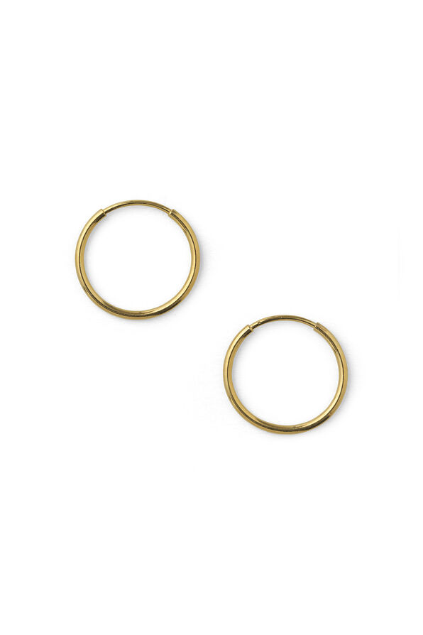 WINDSOR BIG EARRING, GOLD
