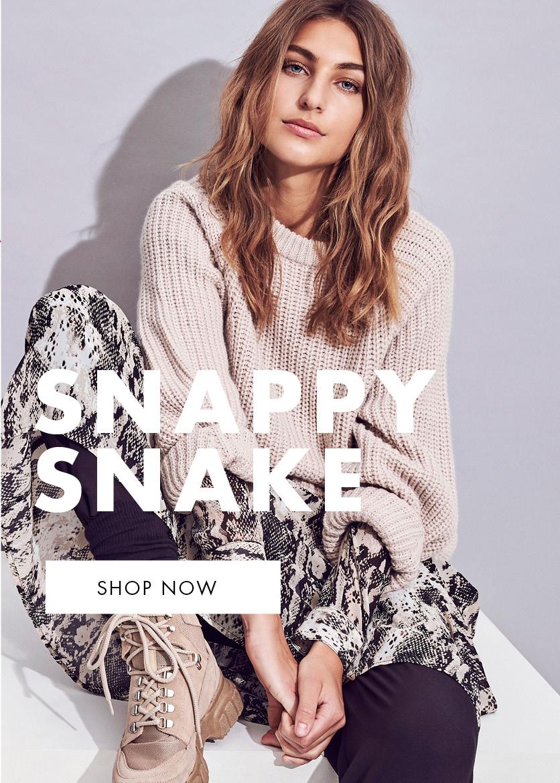 snake print