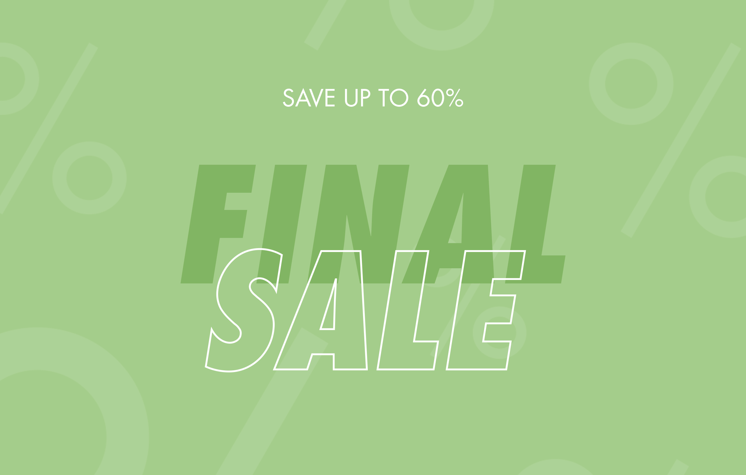 Final sale Women's fashion