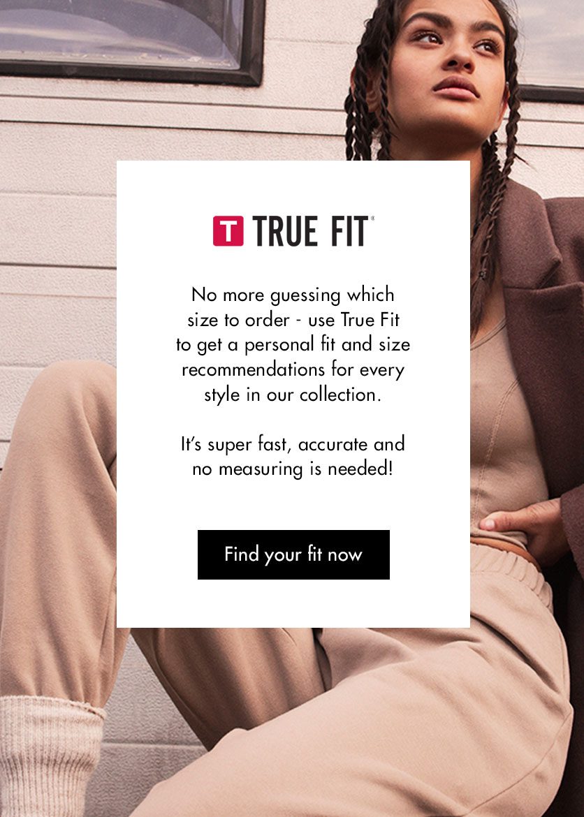 True fit landingpage