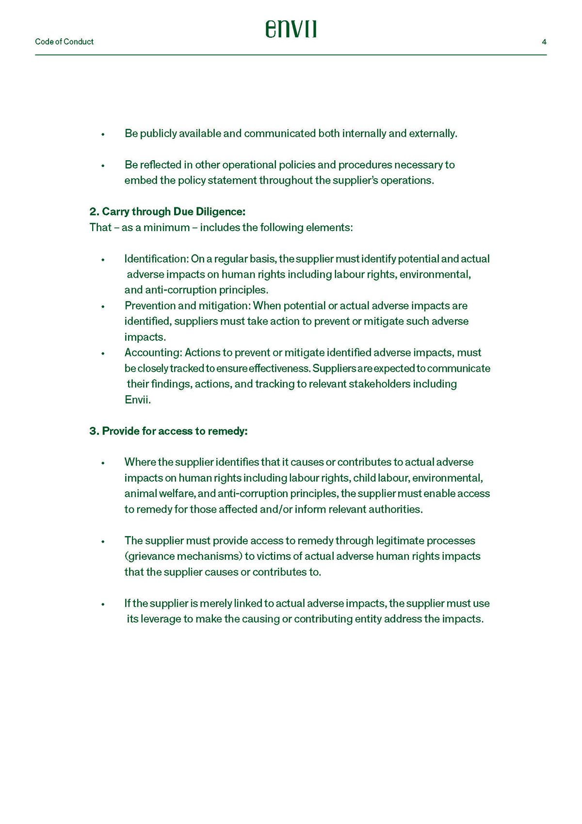 Code of Conduct 4