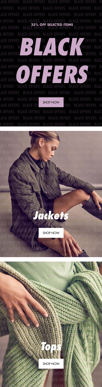 Black Offers Women's fashion M