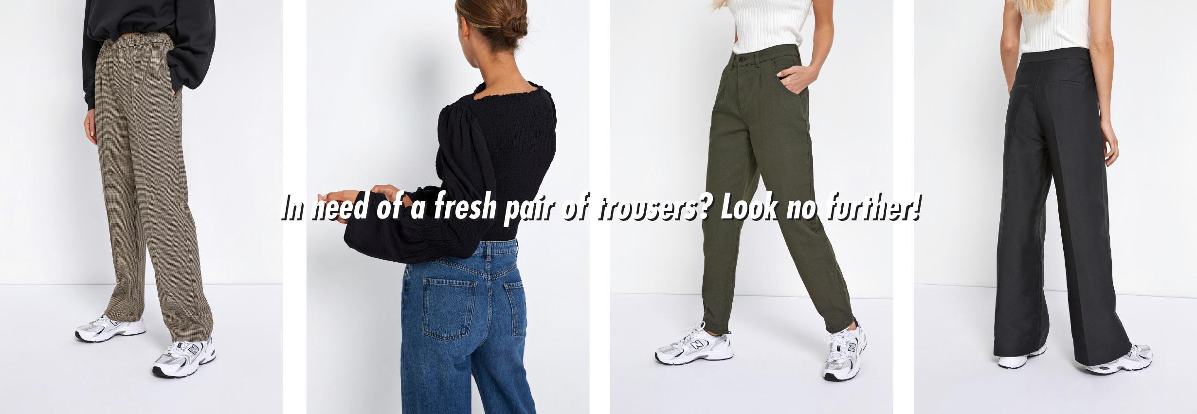 Trousers Women's fashion